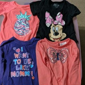 18 months girls shirts / tops